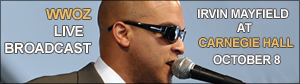 Irvin Mayfield live from Carnegie Hall